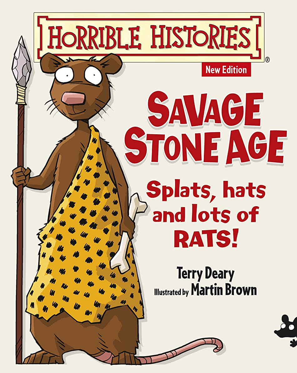 ツインショッキング鼻Horrible Histories: Savage Stone Age (English Edition)
