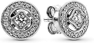 comprar comparacion Pandora Pendientes de botón Mujer plata - 290721CZ