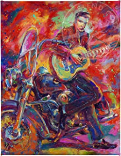 Blend Cota Elvis Presley The King of Rock and Roll 11″ x 14″ Gallery Wrapped Canvas