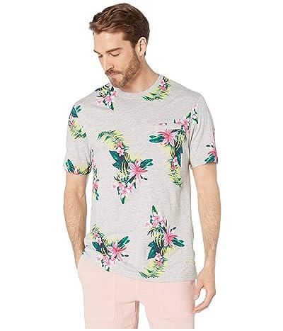 Tommy Bahama Cotton Modal Large Floral T-Shirt (Large Floral) Men