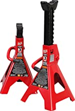 Torin T43002  Big Red Steel Jack Stands: 3 Ton Capacity, 1 Pair
