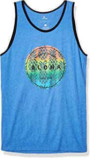 Men's Crop Ringer Tank Top