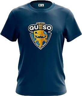 Team Queso Logo Camiseta para Hombre