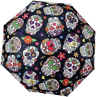 Fantasygift Day of The Dead Telescopic Umbrella w/Cover - 38