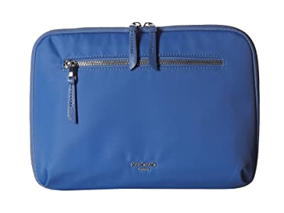 KNOMO London 10.5 Mayfair Collection Knomad Tech Organiser (Cornflower Blue) Bags