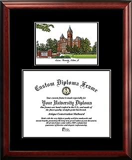 Campus Images AL992D Auburn University Diplomate Diploma Frame, 13