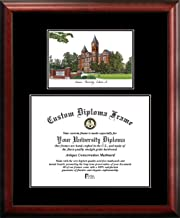 Campus Images AL992PMHGT Auburn University Tassel Box and Diploma Frame 13 x 17