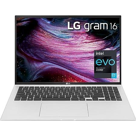 "LG LCD Laptop 16"" WQXGA (2560 x 1600) IPS LCD Display , DCI-P3 99%, 11th gen Intel core i7, Intel Xe Graphics, 16GB RAM, 1TB SSD, 22 Hr Battery Life - Silver, Alexa Built-in"