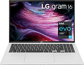 "LG Gram 16Z90P - 16"" WQXGA (2560x1600) Ultra-Lightweight Laptop, Intel evo with 11th gen CORE i7 1165G7 CPU , 16GB RAM, 1T..."