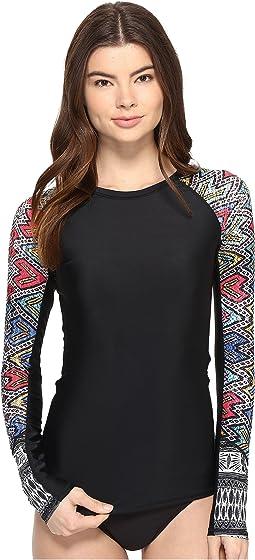 Roxy - Fashion Long Sleeve Rashguard