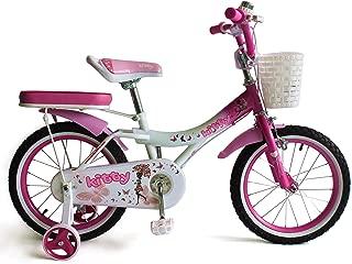 Upten Kitty Kid's Bike Girls kids cycle 12 16 18 inch Training Wheels Children Bicycles