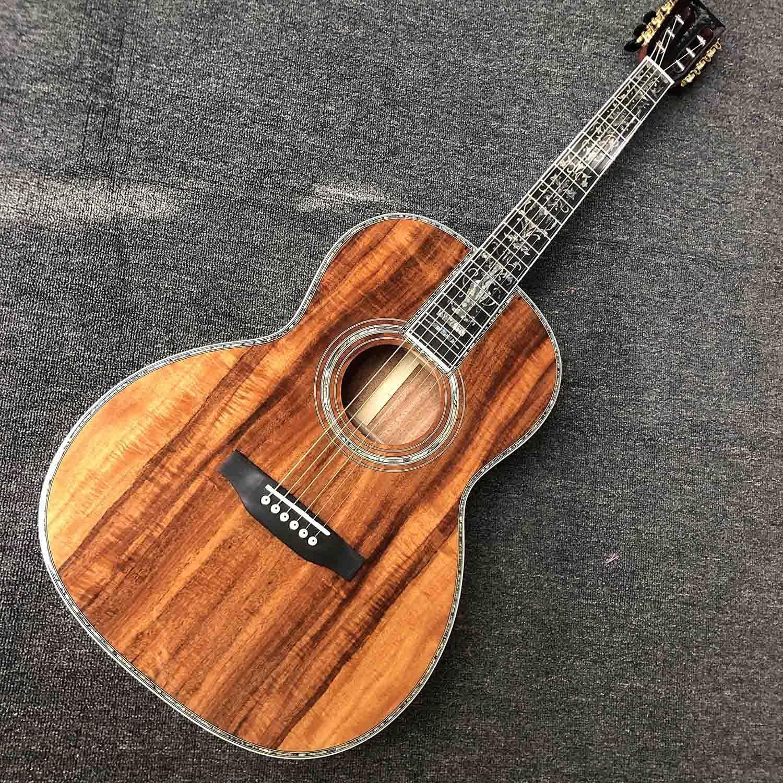YYYSHOPP Guitarra Guitarra acústica Corporal de 39 Pulgadas con Panel de Madera Pop Guitar Guitarra acústica Kits de Guitarra acústica de Acero-Cuerda Guitarras (Size : 39 Inches)