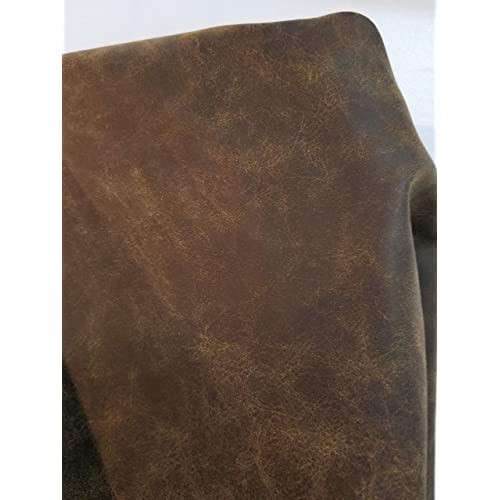 Distressed Leather Fabric For Upholstery Amazon Com