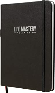 $26 » Life Mastery Planner - A 12 Month Journey to Crush Your Goals, Increase Productivity, Passion, Success & Happiness - Weekl...