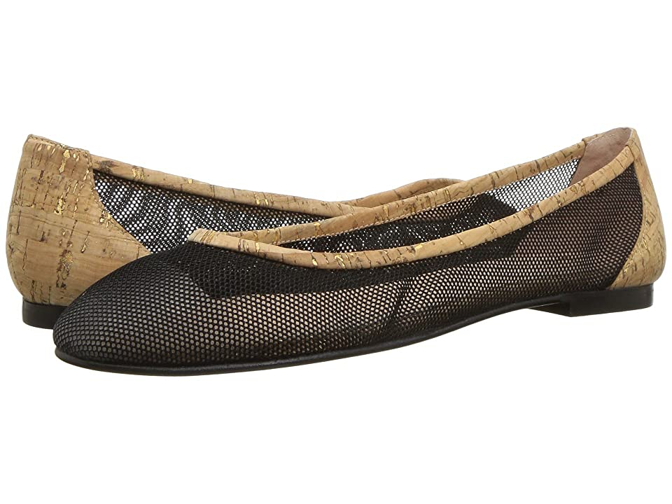 French Sole Bravo (Black Mesh Cork) Women