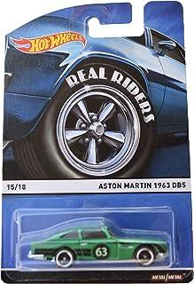Hot Wheels Real Riders Aston Martin 1963 DB5 15/18, Green