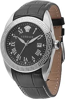 Men's VFE120015 V-SPORT Analog Display Quartz Black Watch