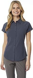 32 DEGREES Cool Women's Outdoor Performance Top Button Down Shirt