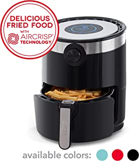 Dash DMAF360GBBK02 AirCrisp Pro Electric Air Fryer + Oven Cooker with Digital Display + 8..