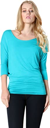 fd187b92f81888 Zenana Outfitters Round Neck Waist Sleeve Band Dolman Top