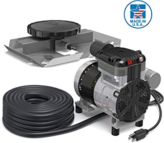 Air Pro Deluxe Pond Aerator Kit by Living Water – Rocking Piston Pond Aeration..