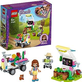 LEGO Friends Heartlake City Friends Huerto de Flores de OliviaSet de Juego con Herramientas,ZoboelRoboty Go Kart de Juguete, multicolor (Lego ES 41425)