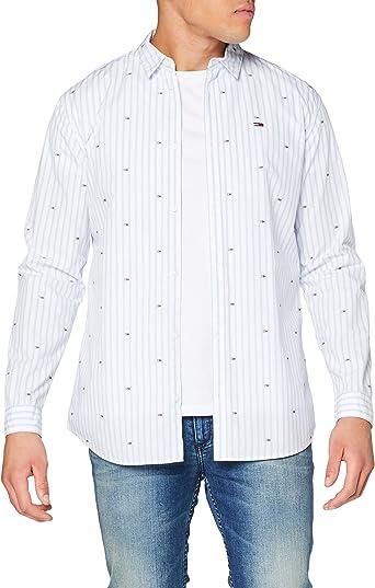 Tommy Hilfiger TJM Flag Dobby Shirt Camisa para Hombre ...