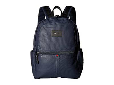 STATE Bags Coated Canvas Kane Backpack (Navy) Backpack Bags