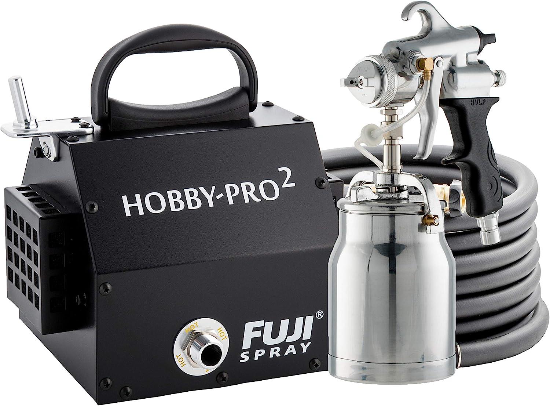 Fuji 2250 Hobby-PRO 2 HVLP Spray System + Bonus Kit + Bonus Filters - Power  Paint Sprayers - Amazon.com