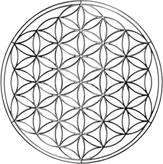 Fleur de vie Géométrie charme Autocollant Decor pour ordinateur portable énergie Tour 1x