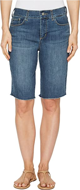NYDJ - Briella Shorts w/ Fray Hem in Zimbali