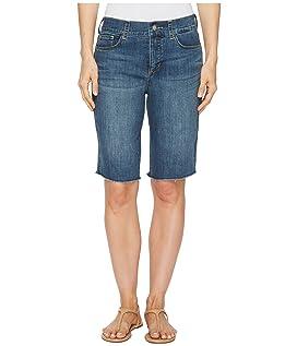 Briella Shorts w/ Fray Hem in Zimbali