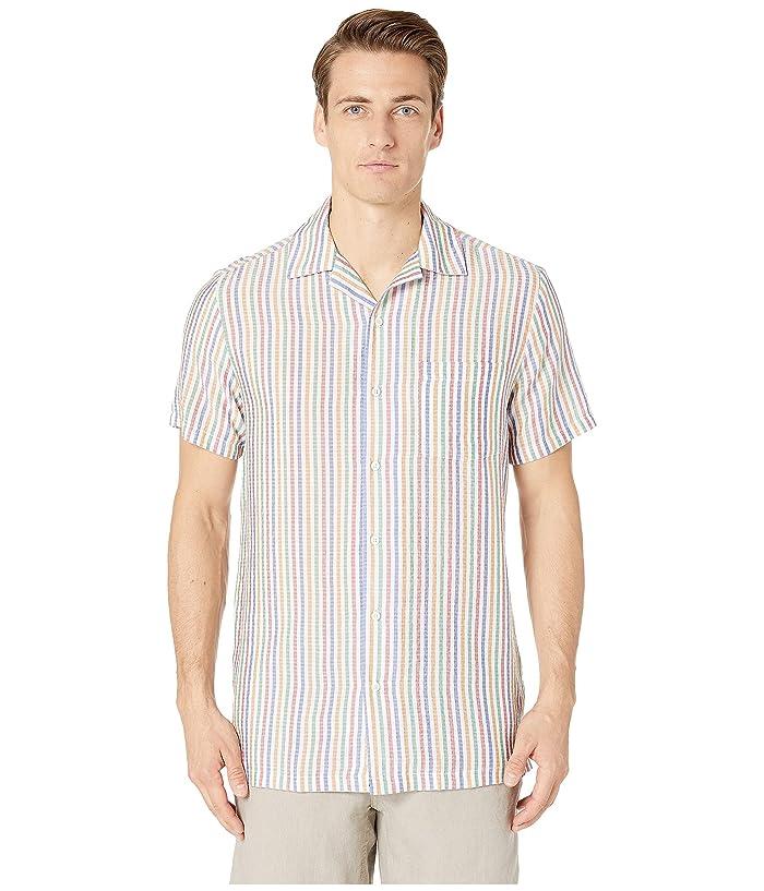 onia Vacation Shirt (Flame) Men