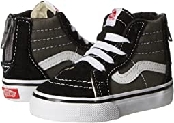 a019ab3c18 Vans kids sk8 mid reissue v toddler canvas suede black black ...