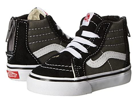 0aafa0d970b Vans Kids Sk8-Hi Zip (Toddler) at Zappos.com