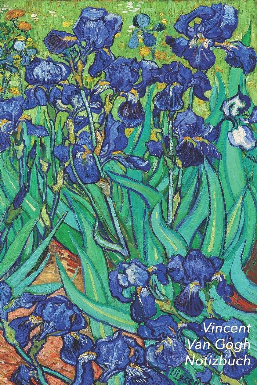 終点韓国語浮くVincent van Gogh Notizbuch: Iris (Schwertlilien) | Perfekt fuer Notizen | Modisches Tagebuch | Ideal fuer die Schule, Studium, Rezepte oder Passwoertern zu schreiben