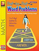 Step-by-Step Word Problems (Grades 2-3) | Reproducible Activity Book