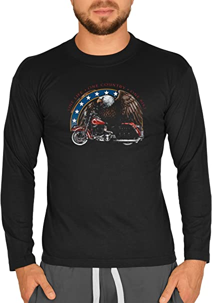 Biker Camisa – One Life – One Country – One Bike – Camiseta ...