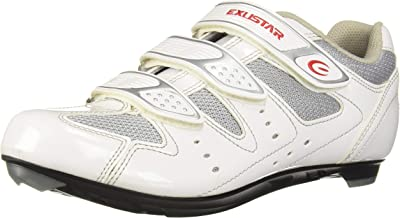 Exustar E-SR442 Road Shoe, White, 6.5