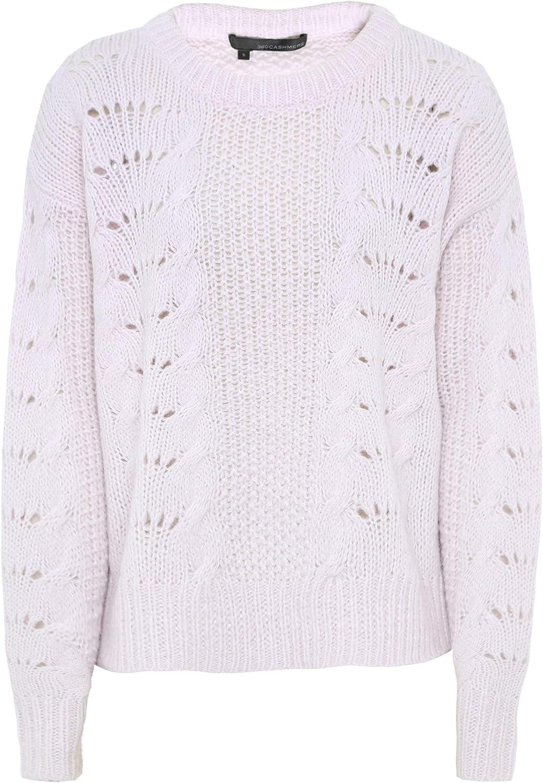 360 Sweater Women's Cashmere Amari Knitted Jumper Pink