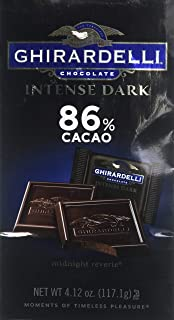 Ghirardelli Chocolate Intense Dark 86% Cacao Midnight Reverie Gift Bag, 4.12oz