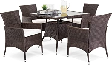 Best wicker patio dining set with umbrella Reviews