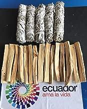 15 Palo Santo Wood & 5 White Sage Smudge Sticks: Cleansing Negativity Removal