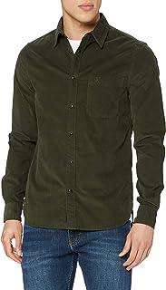Calvin Klein Jeans Men's Corduroy Slim Stretch Shirt