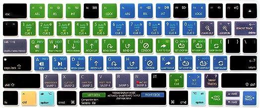 HRH Serato DJ Functional میانبر صفحه کلید صفحه کلید پوشش سیلیکون برای سحر و جادو صفحه کلید بلوتوث بی سیم MLA22LL / A (A1644،2015 منتشر شد) با طرح ایالات متحده
