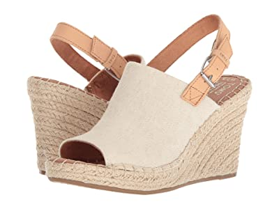 TOMS Monica (Natural Hemp/Leather) Women
