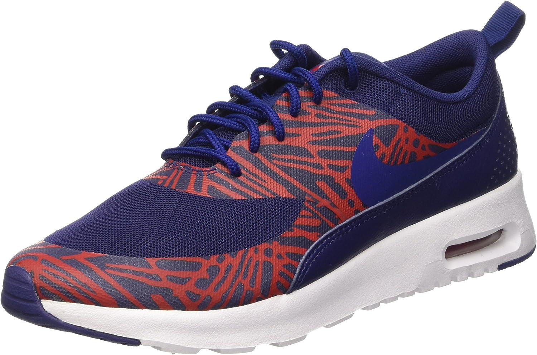 Nike Damen WMNS Air Max Thea Print Turnschuhe, blau blau  nur für dich