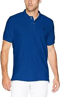 Men's Classic Fit Cotton Mesh Polo Shirt