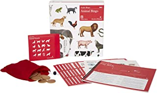 Active Minds Animal Bingo: 8 Player Audio Bingo Board Game for Seniors with Dementia / Alzheimer's
