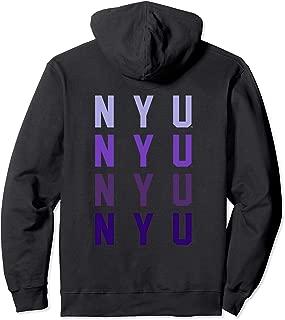 NYU Women's College NCAA Hoodie RYLNYU05